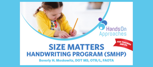 size matters handwriting program